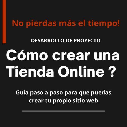 Cómo crear una Tienda Online?